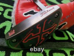 Rare Scotty Cameron Red X5 1st Of 500 Putter 34