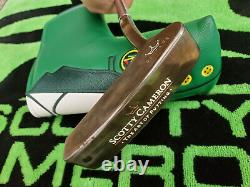 Rare Scotty Cameron Santa Fe Oil Can The Art Of Putting Putter 35 Stunning
