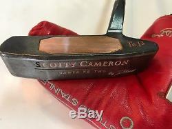 Rare Scotty Cameron Santa Fe Two Teryllium TeI3 Titleist Putter 35