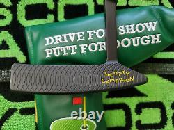Rare Scotty Cameron Studio Design 1.5 Custom Black Putter 35 Mint