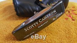 Rare Scotty Cameron Teryllium Newport Long Neck Te I3 TEI3 Putter 35 NEW