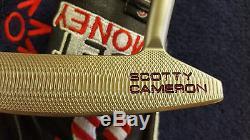 Rare Titieist Scotty Cameron California Sea Mist Sonoma Putter 33 Mint