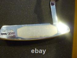 SCOTTY CAMERON AND CO TITLEIST PUTTER STERLING STAINLESS NEWPORT With HEAD COVER