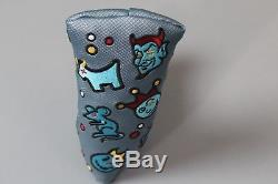 SCOTTY CAMERON CUSTOM PUTTER COVER THE MOTLEY CREW CUSTOM SHOP LIMITED Blade
