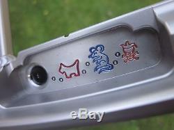 Scotty Cameron 009-M Welded Slant Neck Circle T Putter Jester Peace Rat & Dog
