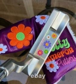Scotty Cameron 2009 My Girl Made With Love Button Back Putter