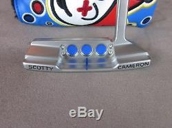 Scotty Cameron 2016 Left Handed Newport 2 Putter 34 360g Blue Jackpot Johnny HC