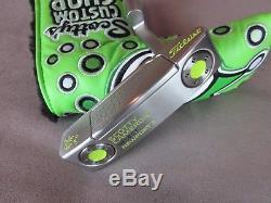 Scotty Cameron 2016 Newport 2 Putter 34 360g Lime Jackpot Johnny Stamp HC NEW