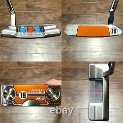 Scotty Cameron 2018 H18 Putter With Headcover Limited Release Brand New