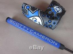Scotty Cameron 2018 Select Newport 2 Putter 34 360g Turbo Blue JJ Headcover