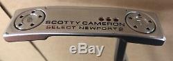 Scotty Cameron 2018 Select Newport 2 Right Hand 34 Putter Stock Putter Grip