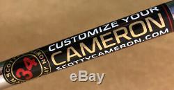 Scotty Cameron 2018 Select Squareback 1.5 Right Hand 34 Putter Matador Midsize
