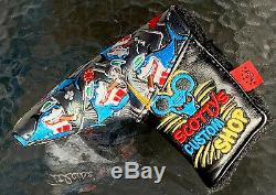 Scotty Cameron 2019 Black Friday CARD SHARK PATCHWORK Putter HEADCOVER