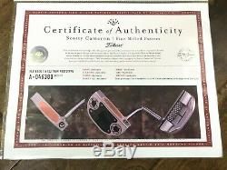 Scotty Cameron 2019 TOUR ONLY SSS Fastback 1.5 WELDED NECK T22 Terylium Circle T
