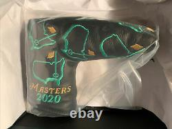 Scotty Cameron 2020 Masters Leather Putter Cover Augusta National Golf NEW