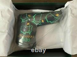 Scotty Cameron 2020 Masters Leather Putter Cover, Augusta National Rare New