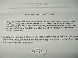 Scotty Cameron Billet Block Copper (bbc) Newport Beach Putter