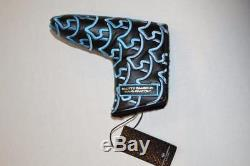 Scotty Cameron Blue Tiffany Wave Dogs Putter Headcover Gallery