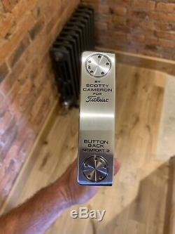 Scotty Cameron Button Back Newport 2 Putter 34 Inch Brand New