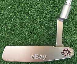 Scotty Cameron CT Circle T FTUO 34 Newport Select Tour Putter with Headcover