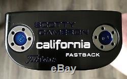 Scotty Cameron California Fastback Putter NICE RH Xtreme Dark Finish LHO