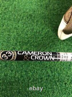 Scotty Cameron Cameron & Crown Newport 2 Putter With HC LH NEW