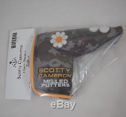 Scotty Cameron Camo Flower HeadCover Complete Set Putter Driver Fairway Utility