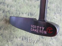 Scotty Cameron Circle T 009 TOUR PROTOTYPE Brushed Black 35 Putter + COA