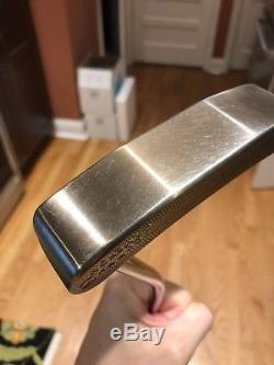 Scotty Cameron Circle T Big Sur Tour Chromatic Bronze Made For Rocco Mediate