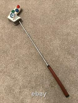 Scotty Cameron Circle T Button Back T10 Tour Issue Putter 34 Inches With Cover