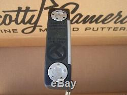 Scotty Cameron Circle T Concept 1 Tour Use Only Putter 36 GSS Face Insert RH