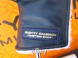 Scotty Cameron Circle T Napa Made For Tour Hand Stamped J. R. Pro Platinum Putter