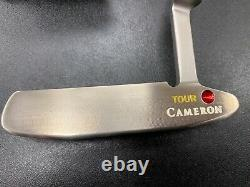 Scotty Cameron Circle T Newport II GSS Putter With Headcover 35 MINT