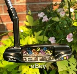 Scotty Cameron Circle T Tour Carbon Beached 009 Hula Loops 350G Putter