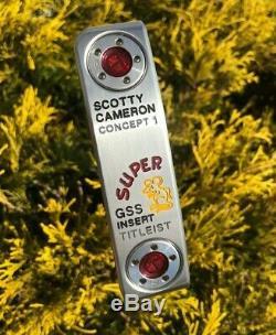 Scotty Cameron Circle T Tour GSS Super Rat 350G Putter -NEW