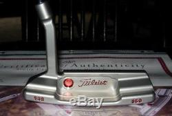 Scotty Cameron Circle T Tour Newport 2 Tiger Woods Style Timeless Putter -NEW