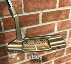 Scotty Cameron Circle T Tour Newport 2 Timeless Peace Surfer Tungsten Putter-NEW