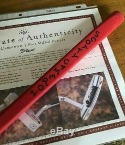 Scotty Cameron Circle T Tour Tungsten Timeless NP2 Tiger Woods SSS Putter -NEW