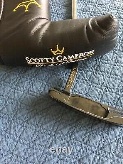 Scotty Cameron Classic 1 Pre-Titleist 1993 Augusta Winner Blade Putter+CT Cover