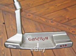 Scotty Cameron & Co. Tour GSS Newport 2 TRI-SOLE Circle T CROWN 34 340G