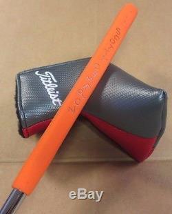 Scotty Cameron Custom Shop 16 Select Newport 2 Notchback Translucent Orange 34