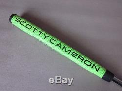 Scotty Cameron Custom Shop Putter Newport 3 34 360g Lime withJackpot Johnny Stamp