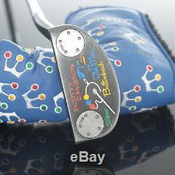 Scotty Cameron Del Mar Button Back Japan Limited 360(34) #690201021 Putter