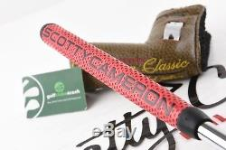 Scotty Cameron Del Mar Buttonback Special Release Putter / 35 Inch / Scpdel004