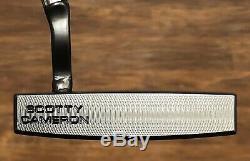 Scotty Cameron Futura X5 Welded Flow Neck Putter MINT LH -Xtreme Dark Finish
