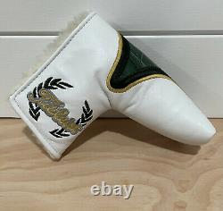 Scotty Cameron Headcover 2013 Masters Green Gator Dog Putter Cover Golf New