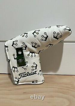 Scotty Cameron Headcover 2014 Masters Micro Crowns Putter Cover Pivot Tool New