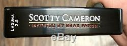 Scotty Cameron Inspired By Brad Faxon Laguna 2.5 Putter With Cover 1 of 300 -NEW