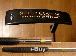 Scotty Cameron LAGUNA INSPIRD BY BRAD FAXON Putter Titleist Japan 34.5 inch F/S