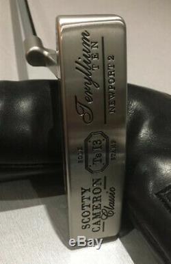 Scotty Cameron Ltd Release Welded Neck Teryllium Ten Newport 2 & Coa 1 Of 35